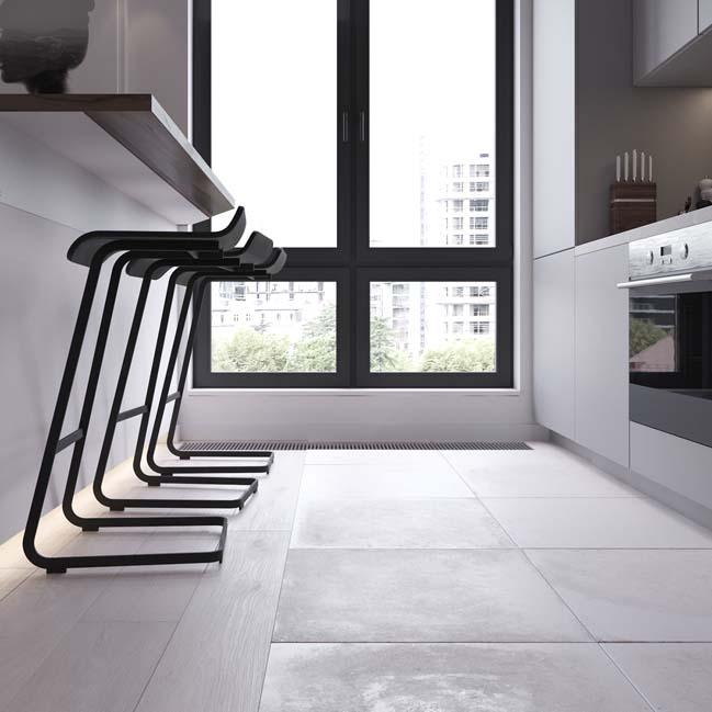 can ho chung cu 45m2 09 Mẫu thiết kế nội thất cho căn hộ chung cư 45m2 tối ưu hóa không gian