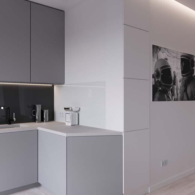 can ho chung cu 45m2 12 Mẫu thiết kế nội thất cho căn hộ chung cư 45m2 tối ưu hóa không gian