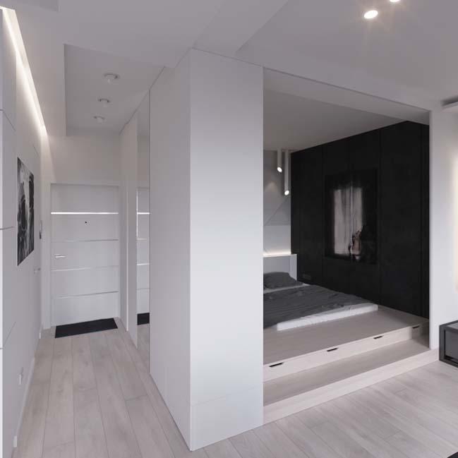 can ho chung cu 45m2 14 Mẫu thiết kế nội thất cho căn hộ chung cư 45m2 tối ưu hóa không gian