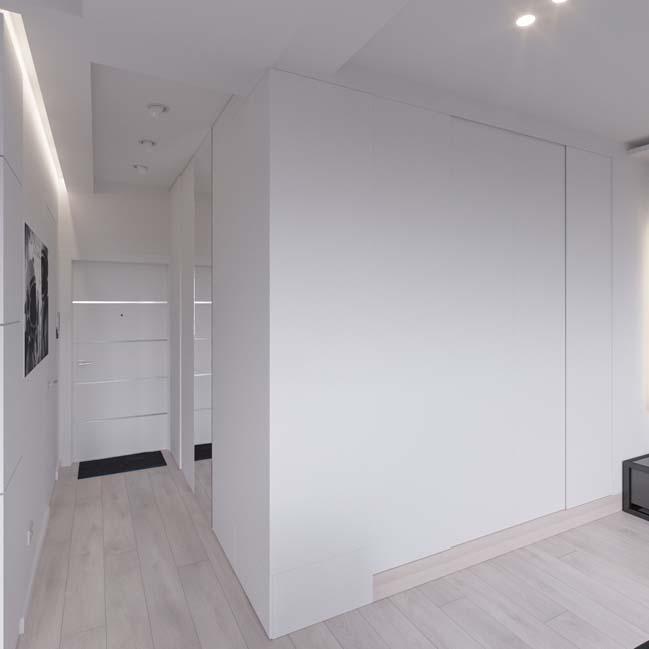can ho chung cu 45m2 15 Mẫu thiết kế nội thất cho căn hộ chung cư 45m2 tối ưu hóa không gian