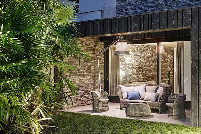 Mẫu biệt thự vườn với ngoài mát trong ấm