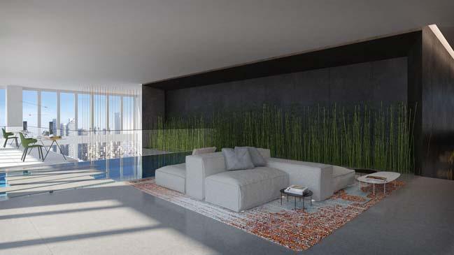 Penthouse 3 tầng sang trọng với thiết kế ngập tràn ánh sáng