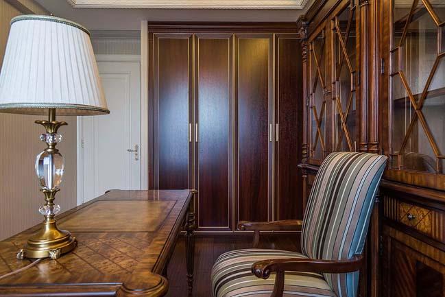 Thiết kế nội thất căn hộ với phong cách cổ điển sang trọng