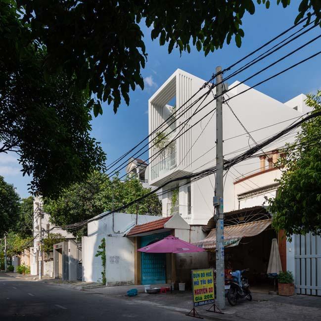 Mẫu nhà phố đẹp 4 tầng mang tên Kính Vạn Hoa