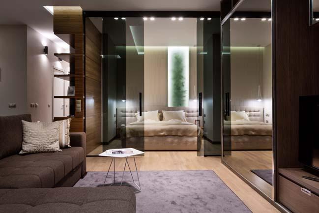 Nội thất căn hộ 51m2 sang trọng như phòng khách sạn 5 sao