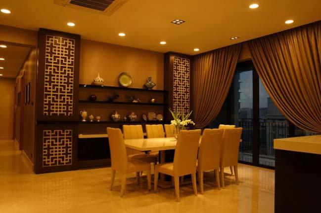 12 mẫu phòng ăn đẹp mang đậm phong cách Á Đông