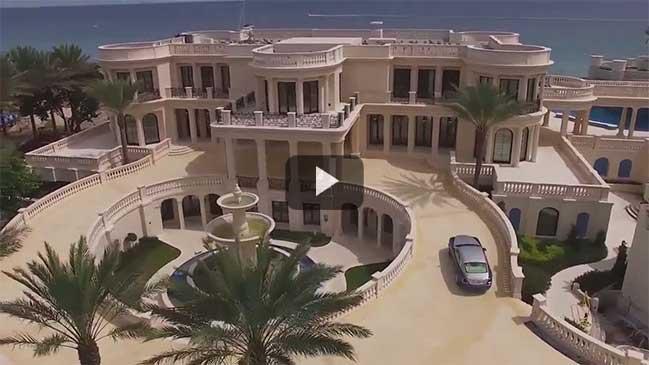 Tham quan ngôi biệt thự xa hoa trị giá 150 triệu đô