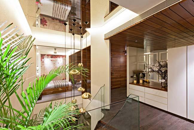 Cải tạo nhà đẹp 2 tầng với màu sắc của thiên nhiên