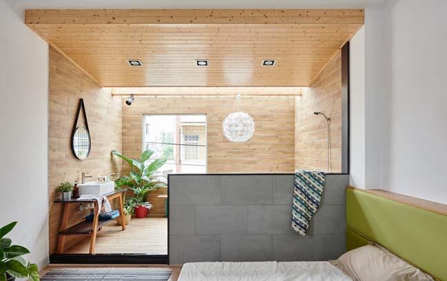 Mẫu thiết kế nhà đẹp ngập tràn ánh sáng và sự ấm cúng