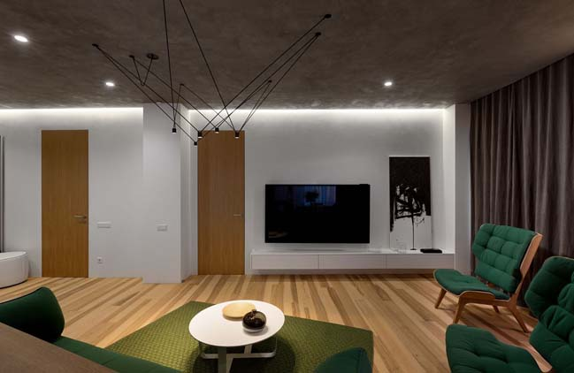 Mẫu thiết kế căn hộ cao cấp với phong cách tối giản