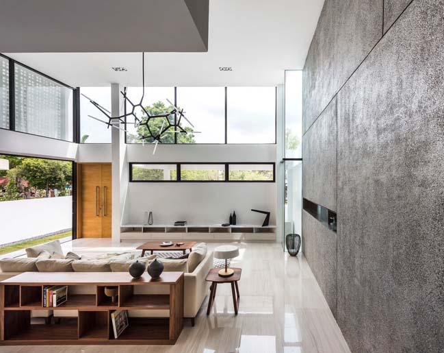 Thiết kế biệt thự đẹp 4 tầng ngập tràn ánh sáng