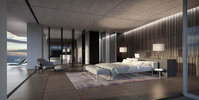 2 mẫu thiết kế penthouse hiện đại sang trọng