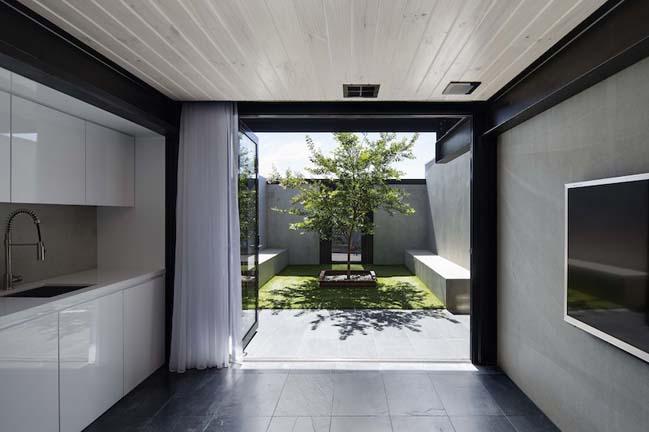 nha dep 2 tang 04 Tham quan mẫu thiết kế nhà đẹp 2 tầng với vẻ ngoài đơn giản cá tính