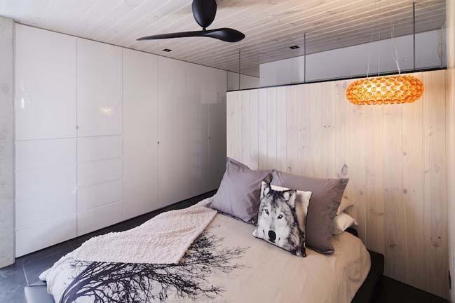 nha dep 2 tang 10 Tham quan mẫu thiết kế nhà đẹp 2 tầng với vẻ ngoài đơn giản cá tính