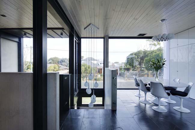 nha dep 2 tang 14 Tham quan mẫu thiết kế nhà đẹp 2 tầng với vẻ ngoài đơn giản cá tính
