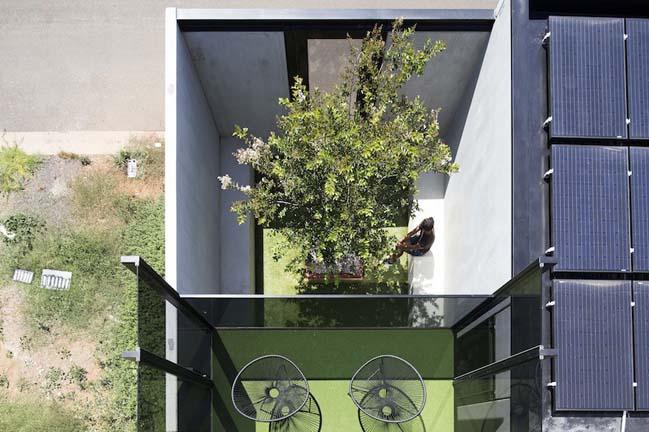 nha dep 2 tang 19 Tham quan mẫu thiết kế nhà đẹp 2 tầng với vẻ ngoài đơn giản cá tính