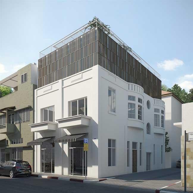 Mẫu nhà phố đẹp với thiết kế thông tầng thoáng mát