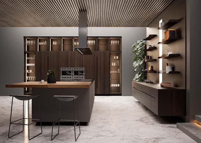Những mẫu nhà bếp cao cấp với thiết kế hiện đại đẹp của năm