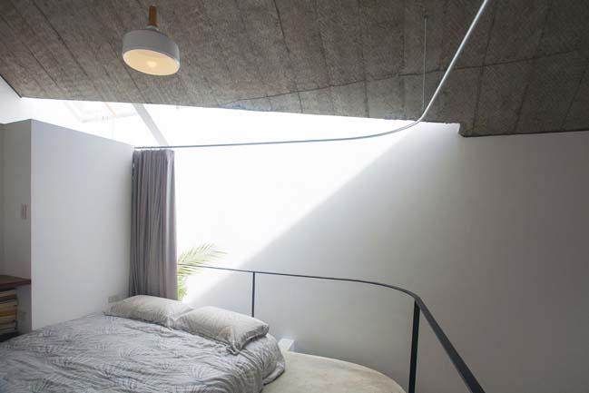 Nhà đẹp 2 tầng với thiết kế mở thông thoáng