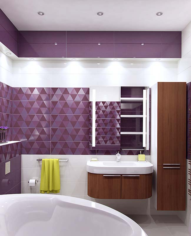 30 Mẫu thiết kế nội thất phòng tắm đẹp với không gian nhỏ