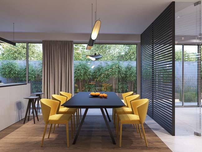 Thiết kế nội thất sang trọng cho biệt thự đẹp