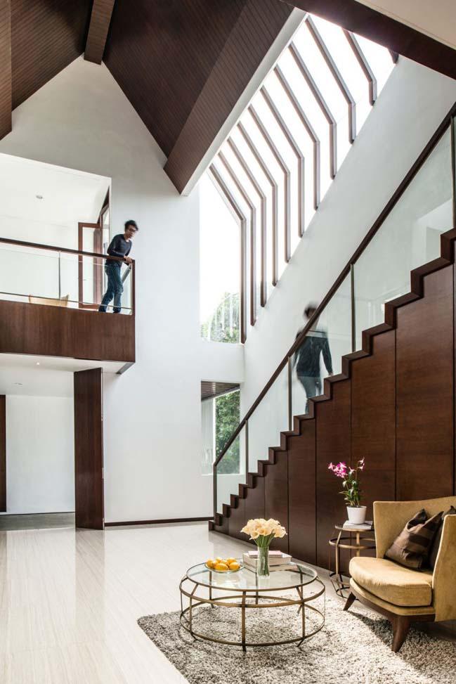 biet thu mai thai hien dai 05 Chia sẻ mẫu thiết kế biệt thự mái thái hiện đại thoáng mát