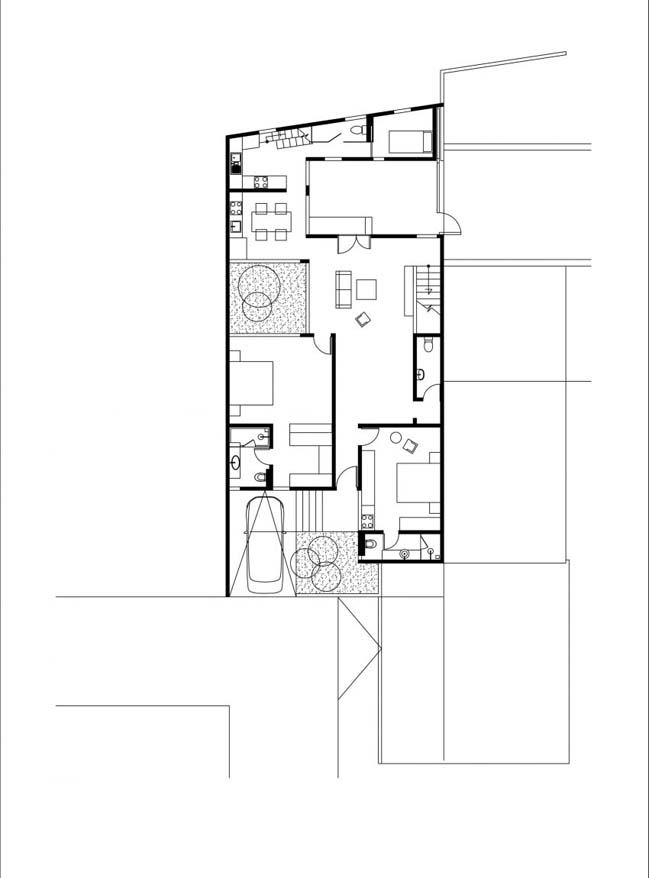 biet thu mai thai hien dai 15 Chia sẻ mẫu thiết kế biệt thự mái thái hiện đại thoáng mát