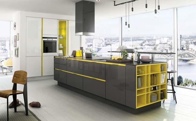 14+ mẫu nhà bếp đẹp với tông màu vàng ấm áp