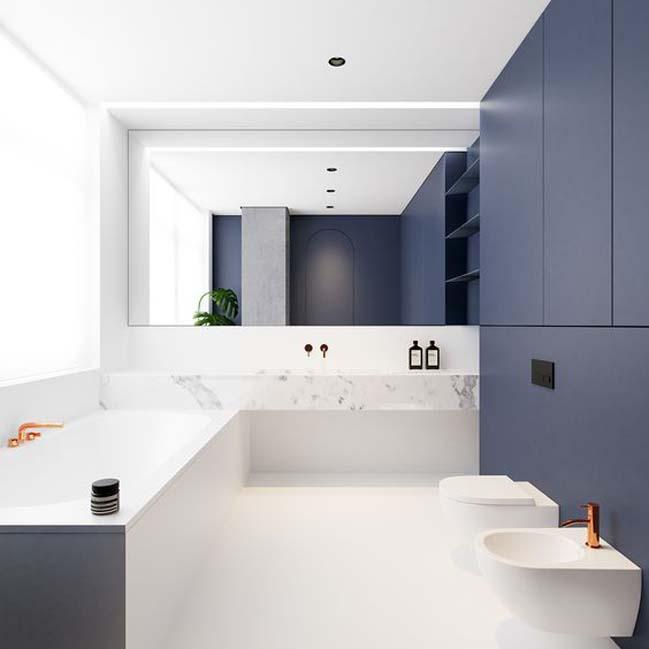 phong tam dep voi tong mau xanh va trang 07 Chiêm ngưỡng những mẫu phòng tắm đẹp với tông màu xanh và trắng sang trọng