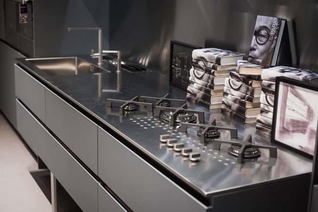 Những mẫu nhà bếp đẹp với hệ tủ bếp inox sang trọng
