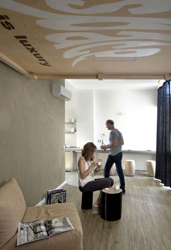 bien phong khach thanh phong ngu 04 Mẫu thiết kế độc đáo biến phòng khách thành phòng ngủ với chiếc giường treo