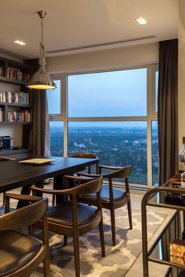 Cải tạo căn hộ penthouse hiện đại tại Hưng Yên