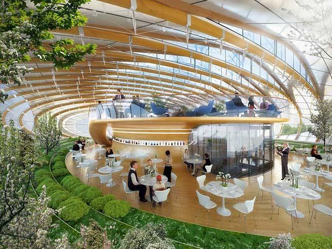 Kiến trúc độc đáo của Trung tâm Thực vật ở Brussels