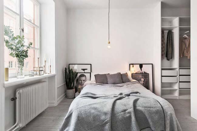 Mẫu thiết kế phòng ngủ đẹp với phong cách Bắc Âu Scandinavian