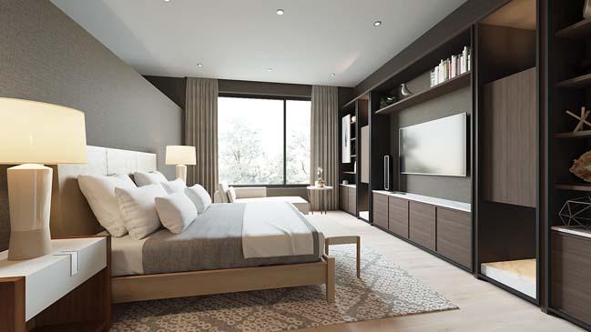 Mẫu thiết kế phòng ngủ đẹp hiện đại 2016