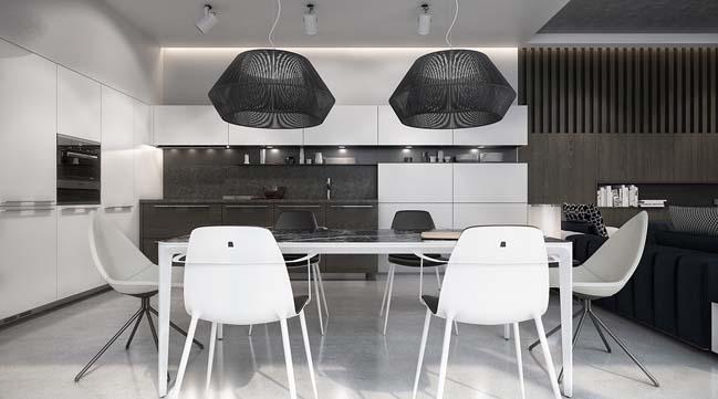Mẫu thiết kế phòng ăn đẹp 2016