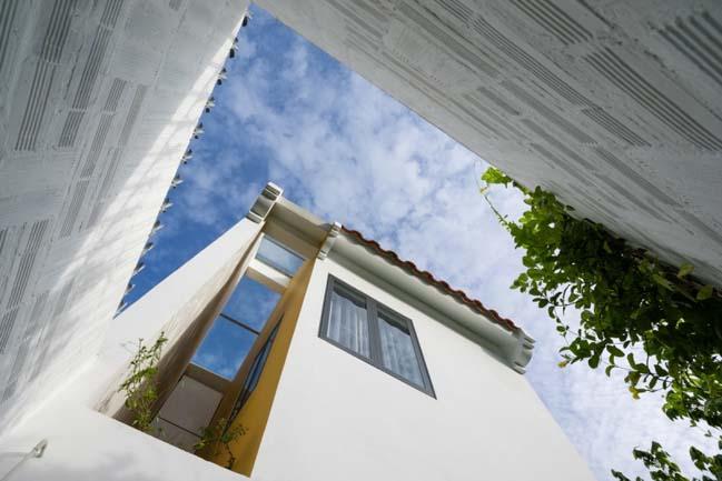 Mẫu nhà phố đẹp với sự hòa trộn của 2 nền văn hóa