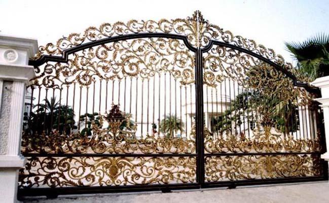 Mẫu cổng nhà đẹp 2016