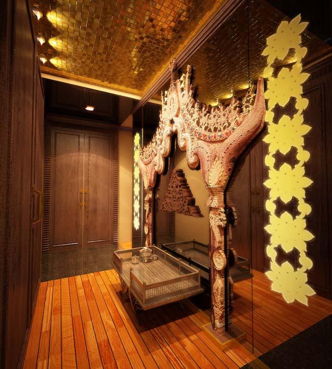 Mẫu nhà đẹp với thiết kế truyền thống Thái Lan