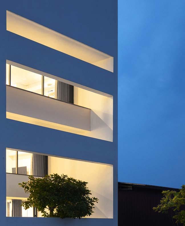 mau thiet ke nha pho dep 03 Chiêm ngắm mẫu thiết kế nhà phố đẹp 5x15m tại Bắc Ninh