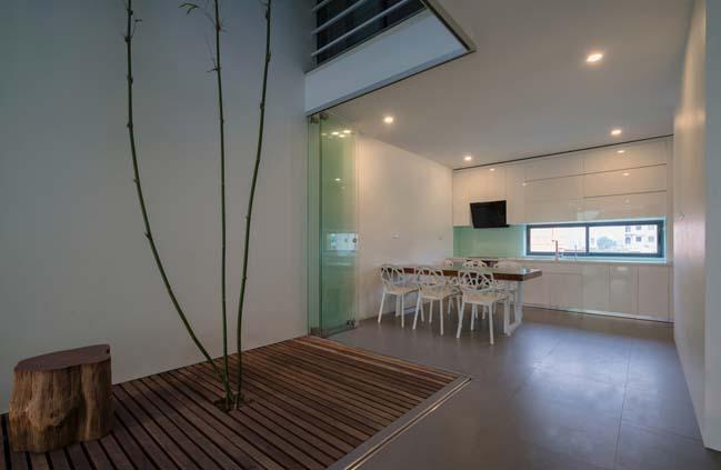 mau thiet ke nha pho dep 04 Chiêm ngắm mẫu thiết kế nhà phố đẹp 5x15m tại Bắc Ninh