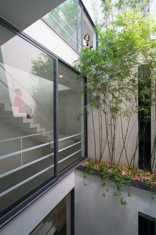 mau thiet ke nha pho dep 07 Chiêm ngắm mẫu thiết kế nhà phố đẹp 5x15m tại Bắc Ninh