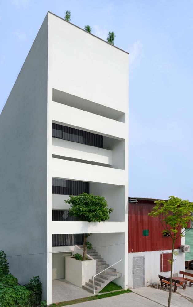 mau thiet ke nha pho dep 08 Chiêm ngắm mẫu thiết kế nhà phố đẹp 5x15m tại Bắc Ninh