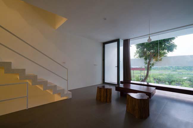 mau thiet ke nha pho dep 11 Chiêm ngắm mẫu thiết kế nhà phố đẹp 5x15m tại Bắc Ninh