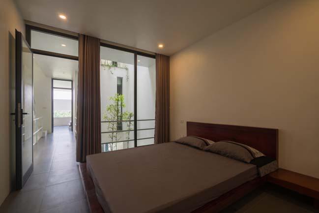 mau thiet ke nha pho dep 15 Chiêm ngắm mẫu thiết kế nhà phố đẹp 5x15m tại Bắc Ninh