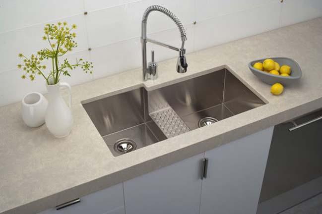 Hơn 15 mẫu bồn rửa chén đẹp độc 2017