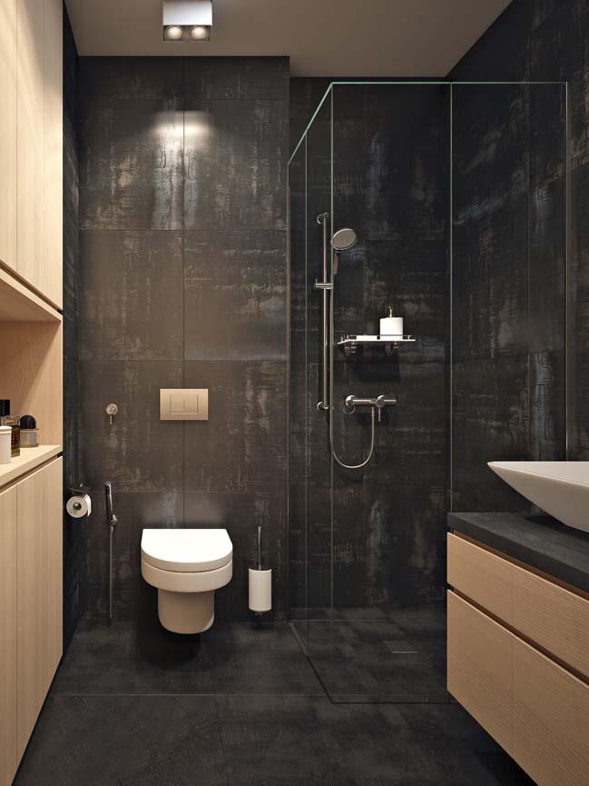 Căn hộ chung cư 40m2 với thiết kế gọn gàng ấm áp