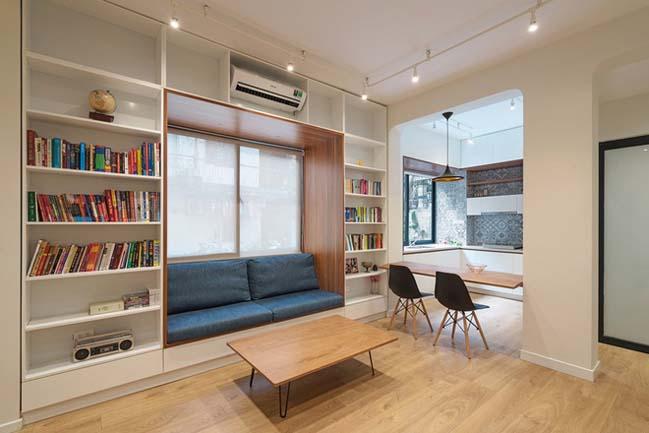 Biến ngôi nhà cũ thành không gian đẹp khang trang