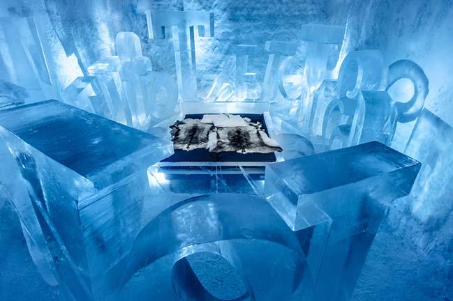 Cùng ngắm khách sạn với kiến trúc bằng băng