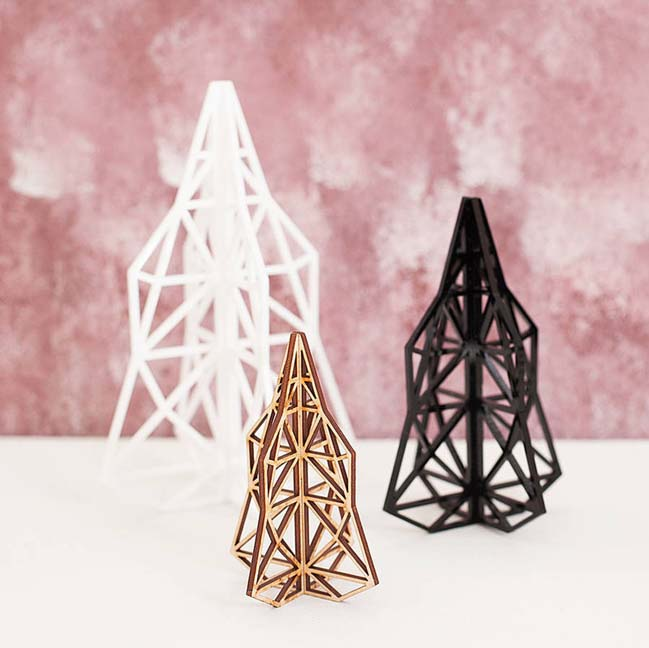 Những thiết kế trang trí giáng sinh cho không gian hiện đại